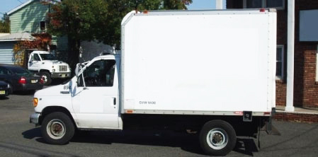 White Box Truck Rental