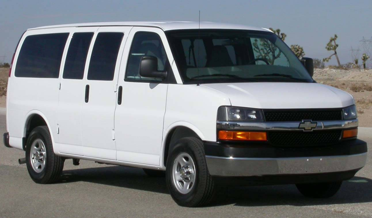 Chevrolet Rental Van From Switchback Blog Photo