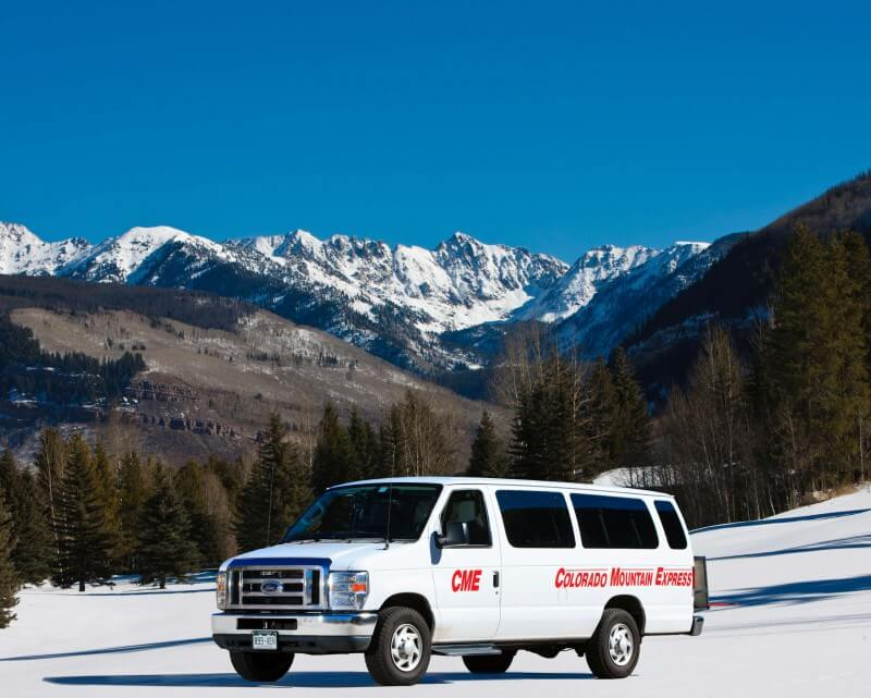 Shuttle Van From Colorado Mountain Express