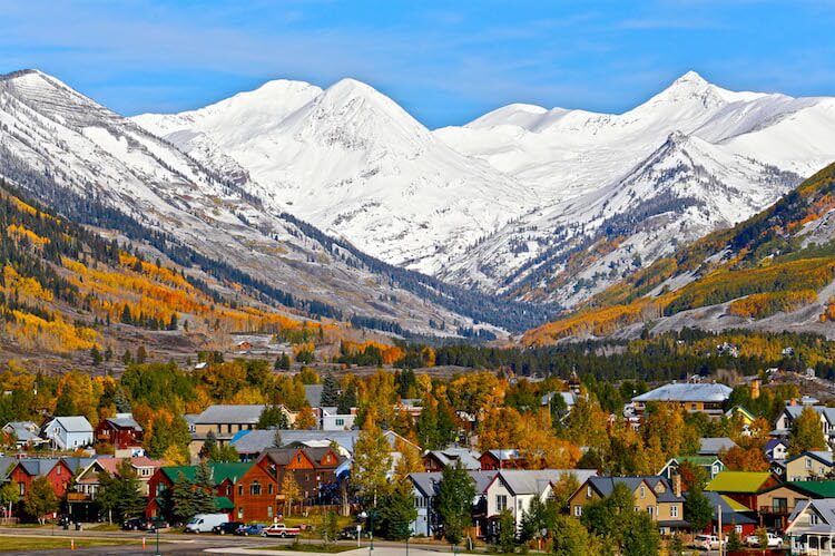 Van Rental Office Fall Time Crested Butte
