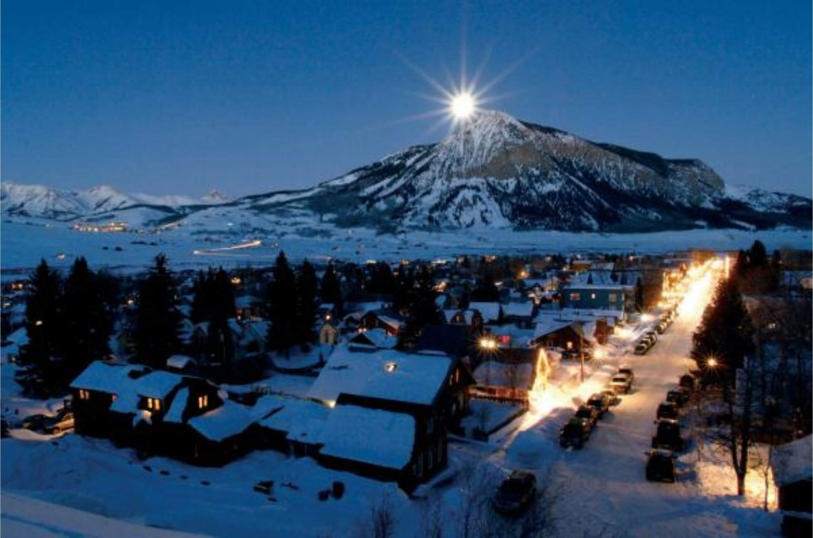 View Of Crested Butte Town Rental Center