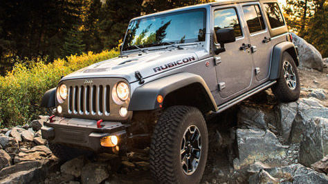 Denver Rental Jeep Climbimg Colorado Mountain