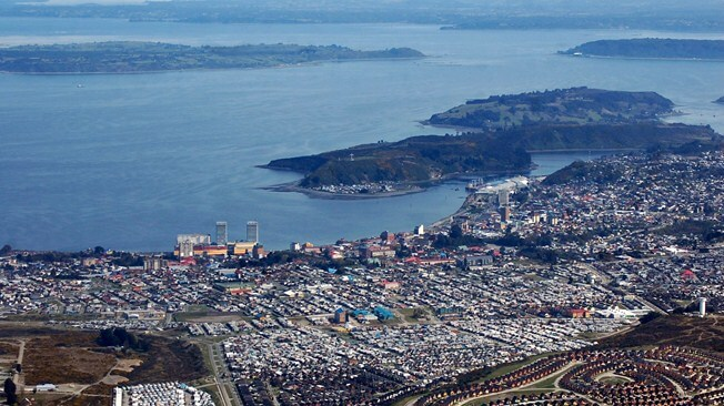 Viewing City Of Puerto Montt Chile