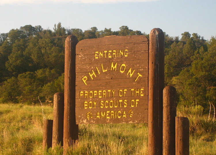Entrance To Philmont Scout Ranch