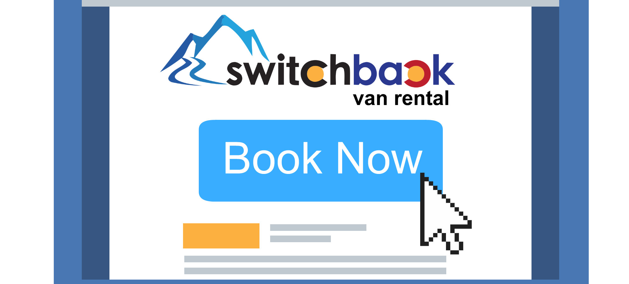 Switchback Albuquerque Online Van Booking