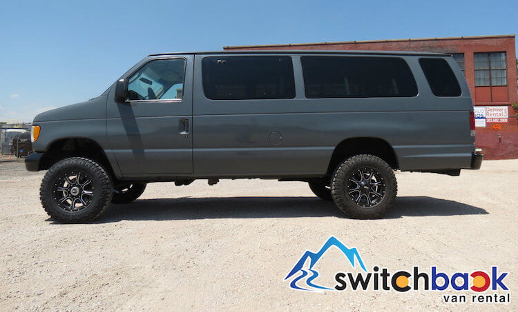 Available 4x4 Van Rentals Vail