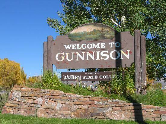 Welcome To Gunnison Time Image